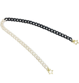 Wyld Blue Acrylic Mask/Sunglasses Chain with Stars