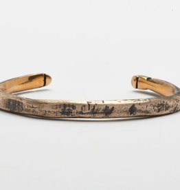 Buck Palmer Hammered Mixed Metal Buck Cuff