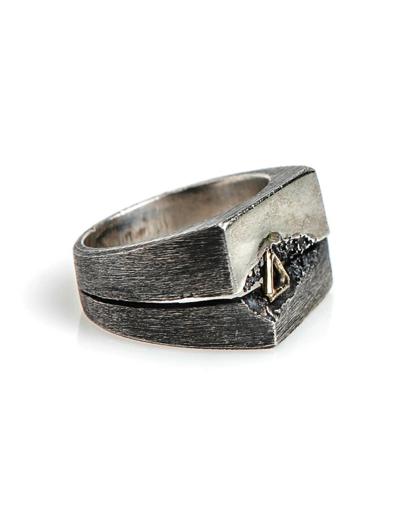 Buck Palmer Split Triangle Ring