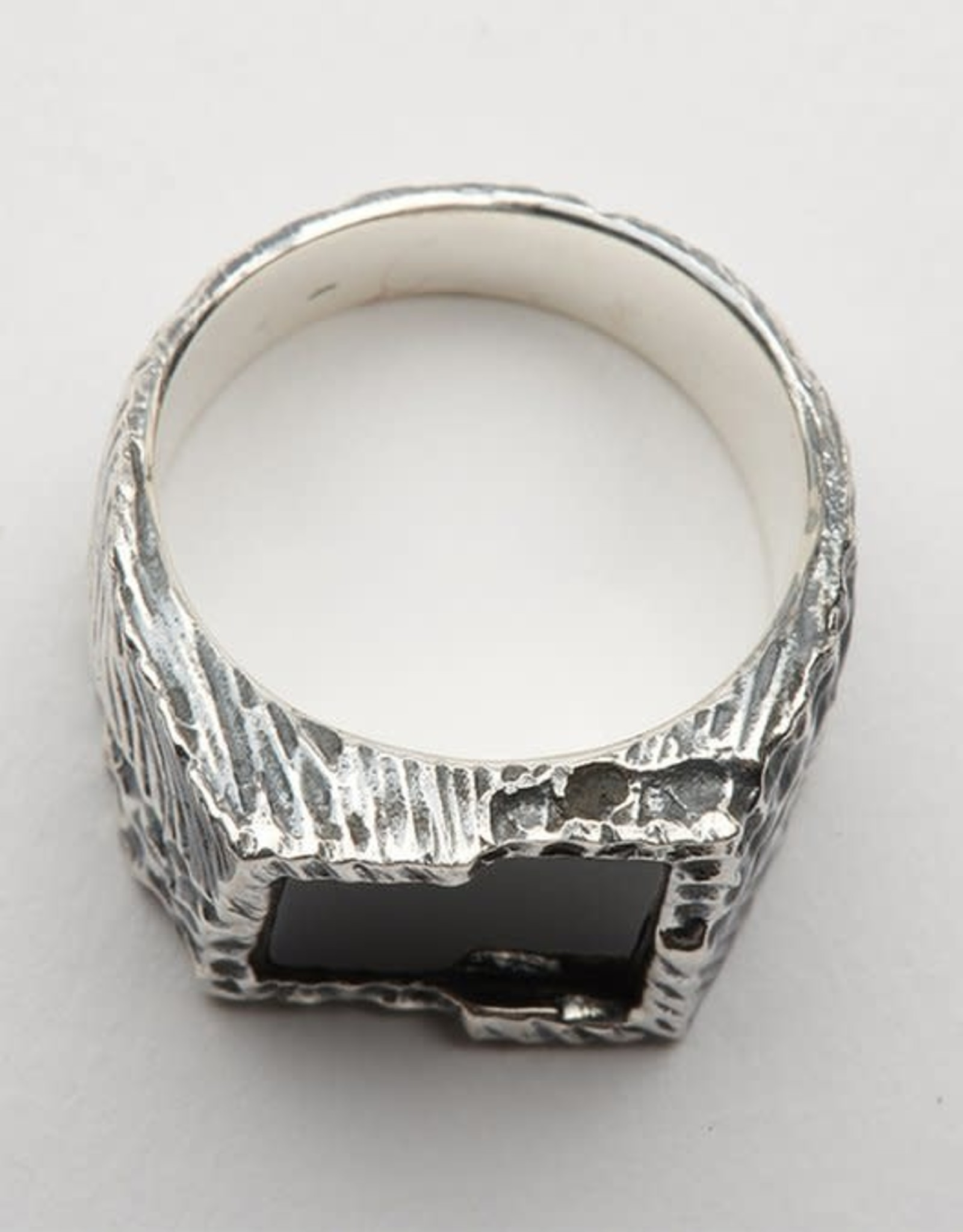 Buck Palmer Onyx Square Ring