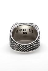 Buck Palmer Square Cignet Ring Plain