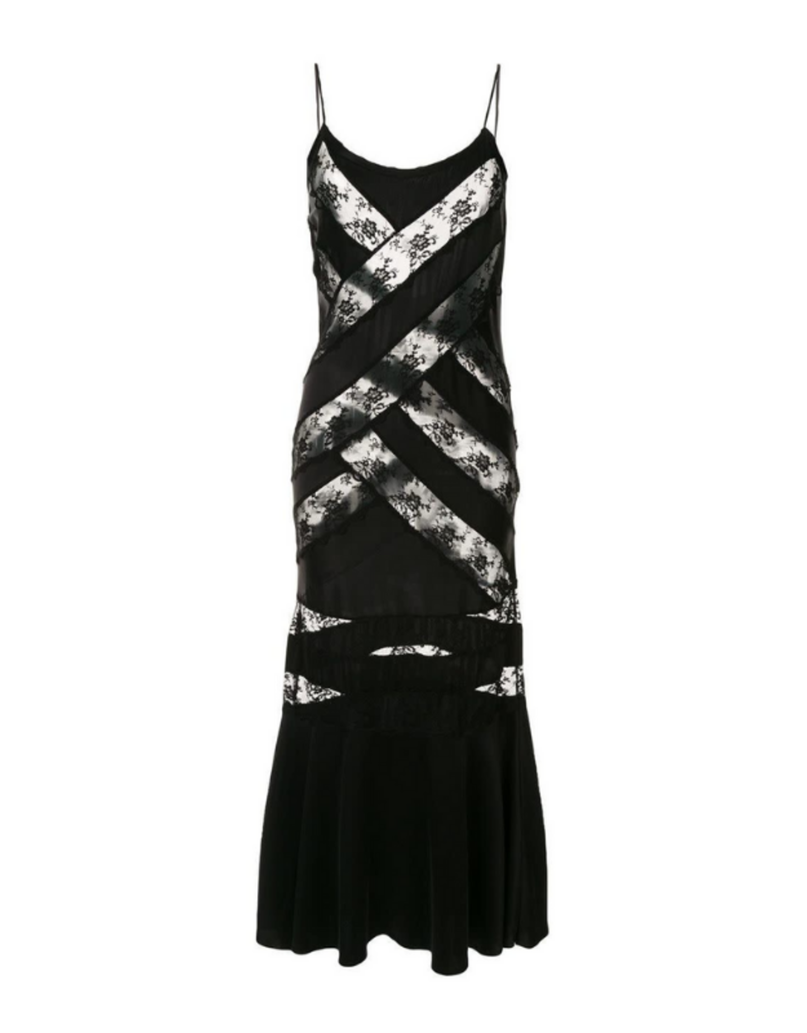 Sir. The Label Aries Panel Dress - Black