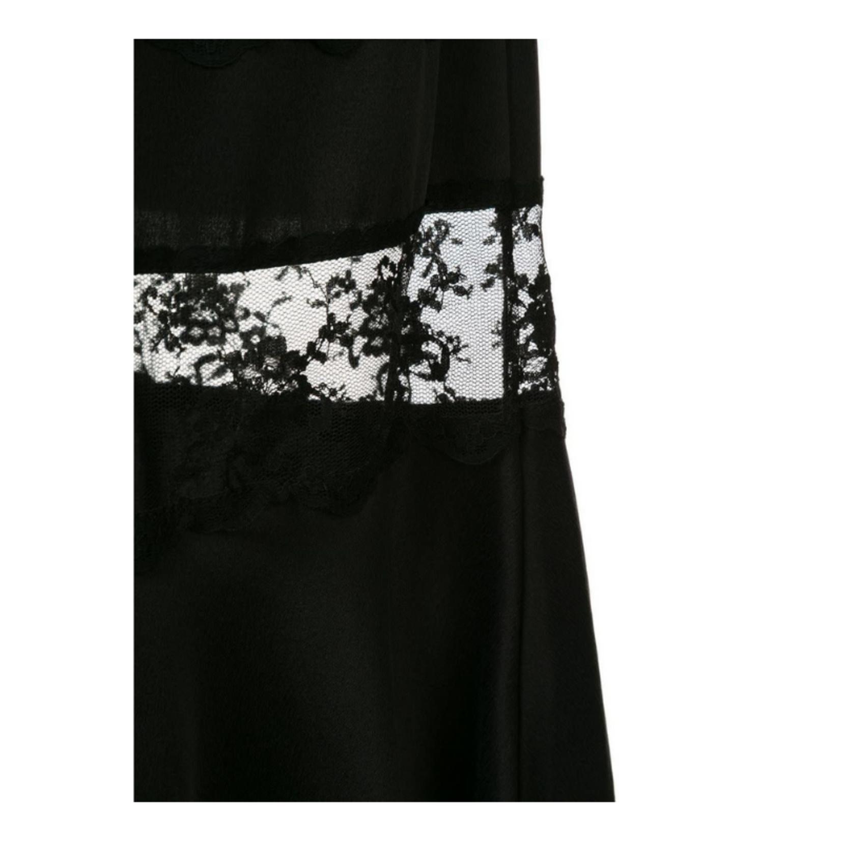 Sir. The Label Aries Panel Dress - Black