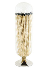 Wyld Blue Home Helix Fireplace Match Cloche Black Tipped Matches