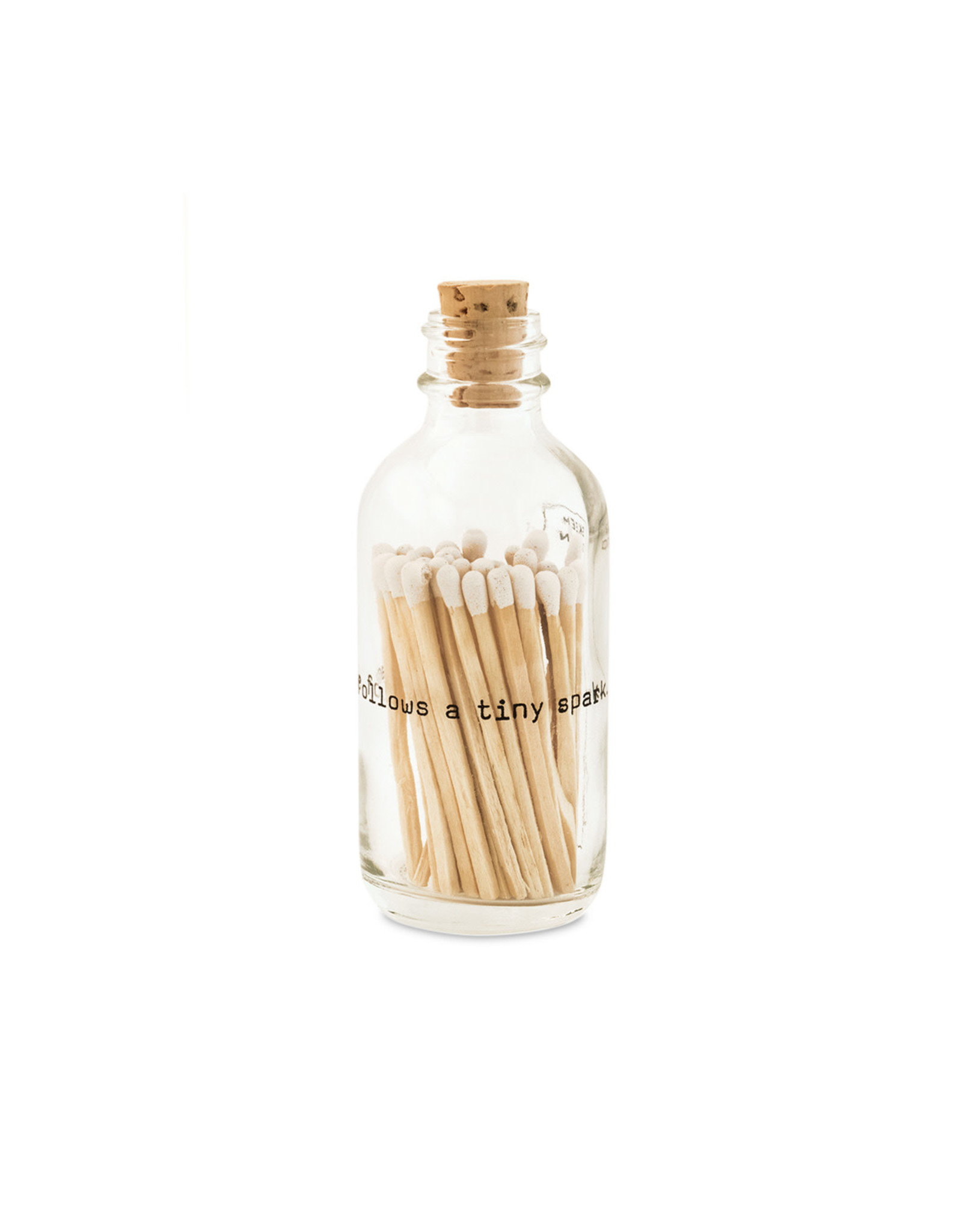 Wyld Blue Home Mini Apothecary Match Bottle