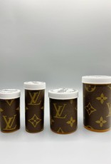 Sarah Coleman LV Monogram Pill Bottle Large