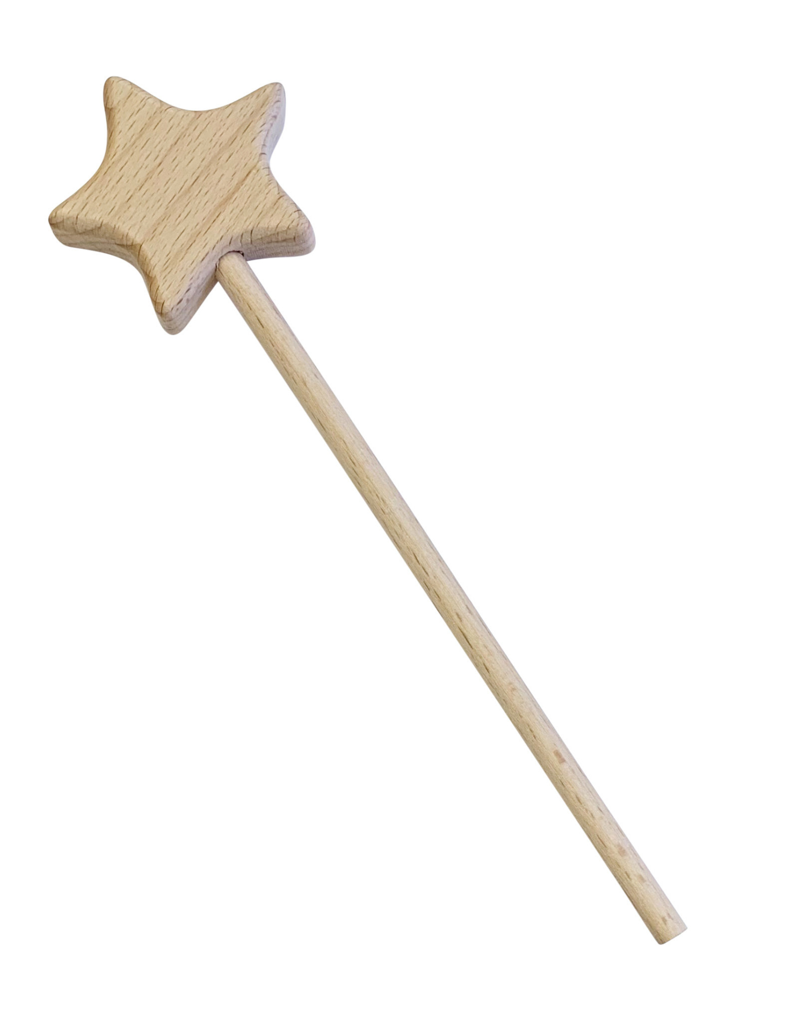 Wyld Blue Wooden Star Wand