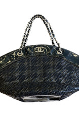 Chanel Chanel Black Patent Tote Bag (Early 2000s)