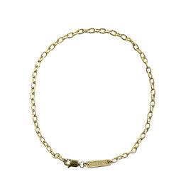 KBH Jewels Gold Chain Gabriela Anklet