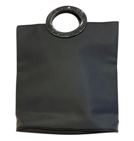 Wyld Blue Vintage Black Evening Bag