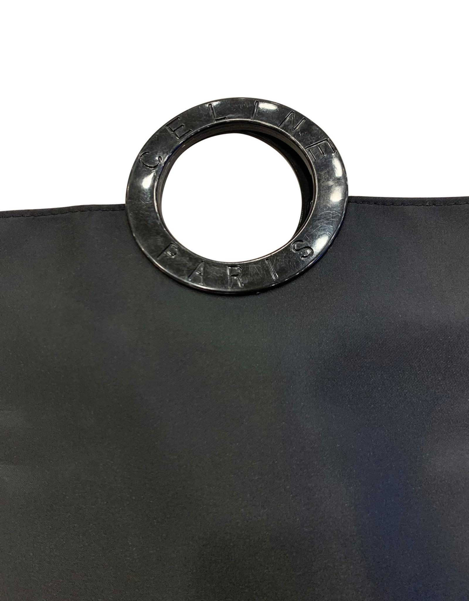 Wyld Blue Vintage Celine Black Evening Bag