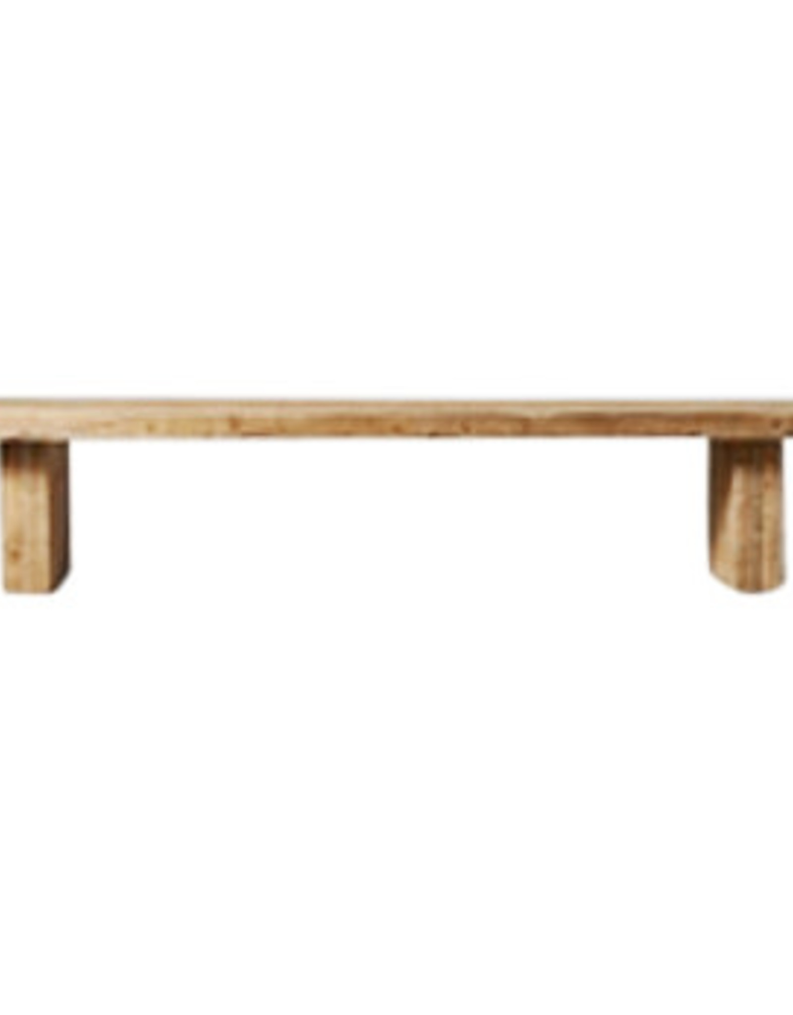 Wyld Blue Home Collins Old Wood Bench
