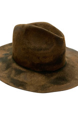 Reinhard Plank Norma Wool Hat Black Burned