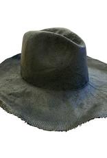 Reinhard Plank Norma Paper Slim Hat Black