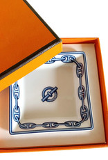 Wyld Blue Home Hermes Monogram Chain D'Ancre Ashtray