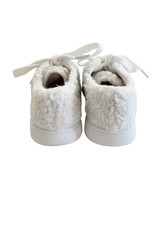 Wyld Blue Kids Teddy Sneakers Cream