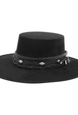 Tuluminati Kiki II Hat Black Suede M