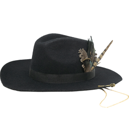 Tuluminati Ayikal Hat Black Wool