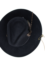 Tuluminati Ayikal Hat Black Wool