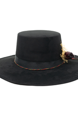 Tuluminati Tankah Hat Black Wool M