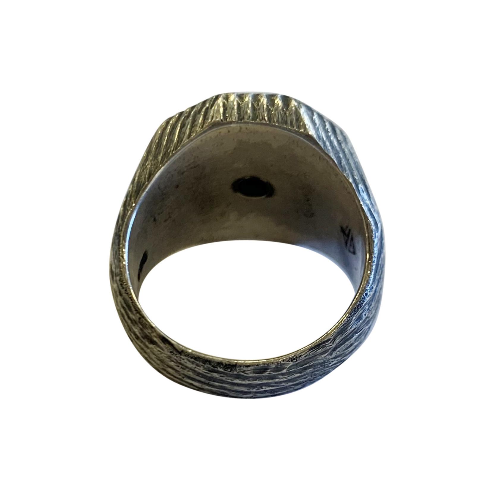 Buck Palmer Facet Onyx Ring