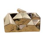 Wyld Blue Gold Kaleidoscope Handbag