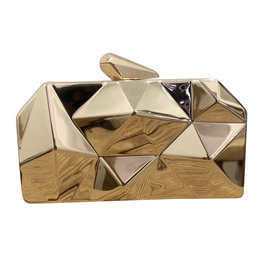Wyld Blue Gold Kaleidoscope Handbag