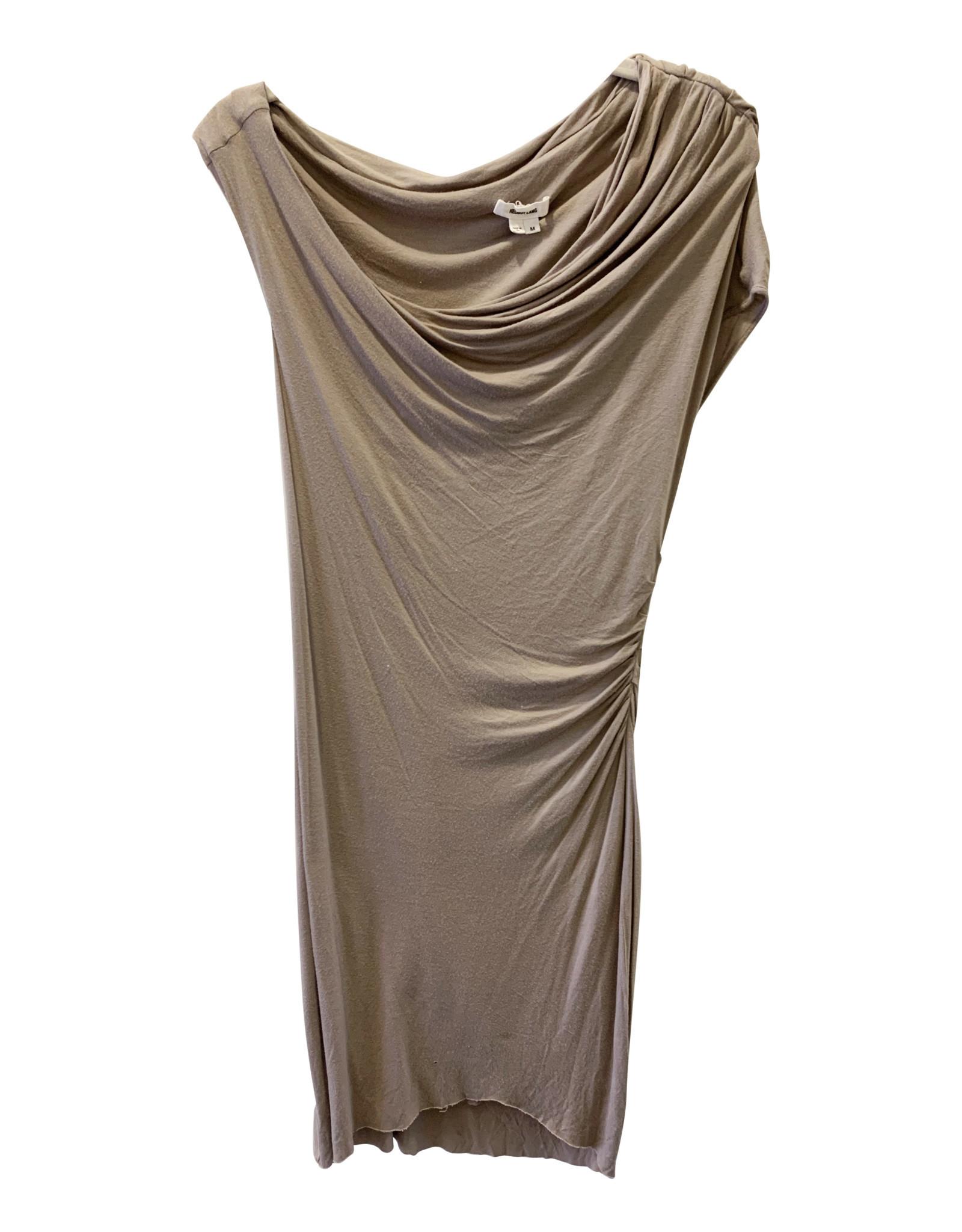 Wyld Blue Helmut Lang Cream Dress