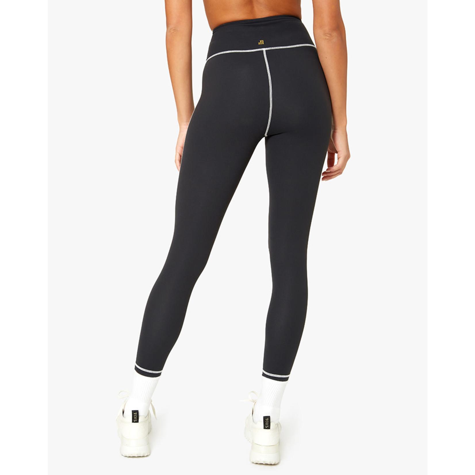 Shop WeWoreWhat Black Corset Legging