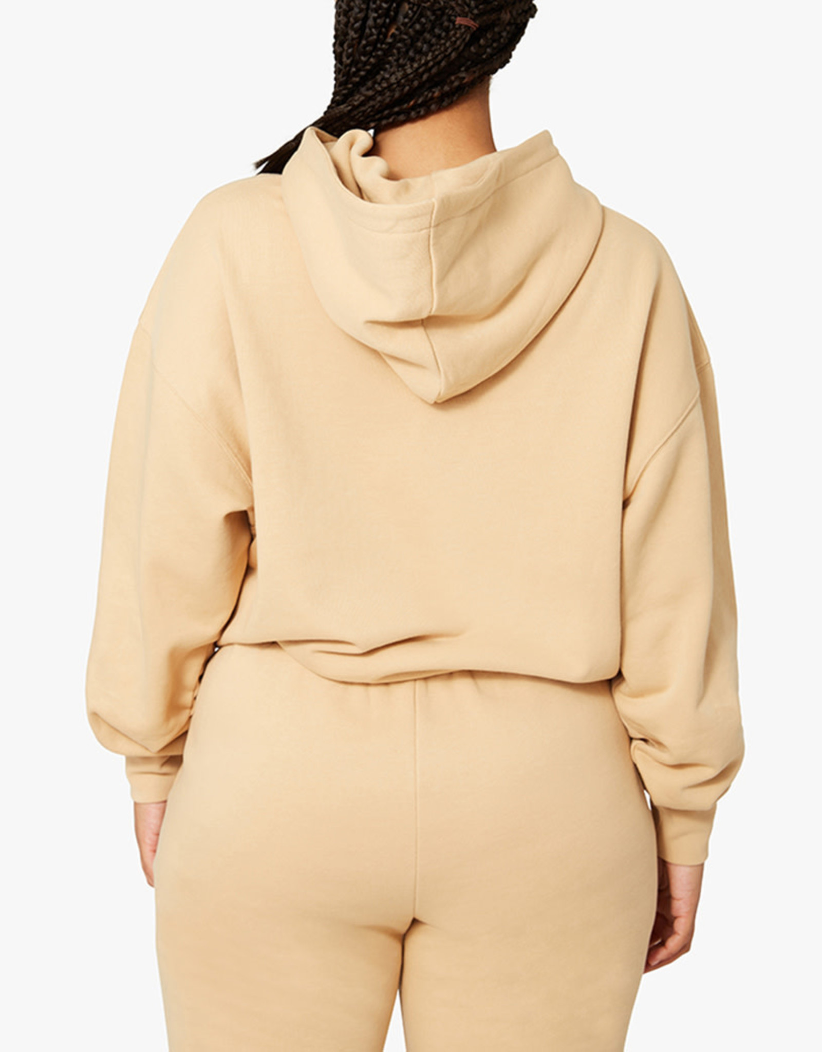 Shop WeWoreWhat Tan Oversized Hoodie