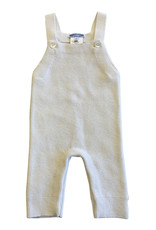 Wyld Blue Kids White Cashmere Overalls 3m