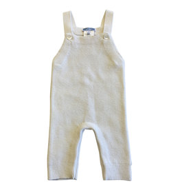 Wyld Blue Kids White Cashmere Overalls 3m