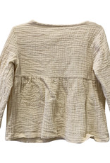 Wyld Blue Kids Linen Tunic Blush 18m