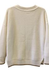 OYUN Oyun White Knit Wool Top (sz S)