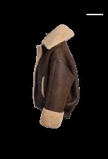 Arjé The Saturn Reversible Shearling Jacket Cognac