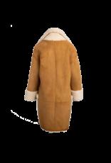 Arjé Amo Reversible Shearling Coat Camel M