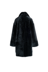 Arjé The Amo Reversible Shearling Coat Emerald M