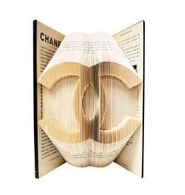 Folded Fiction Designer Book Art CC