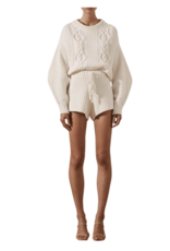 SHONA JOY Willow Cocoon Sleeve Cable Jumper