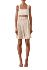 SHONA JOY Ivy High Waisted Tailored Short
