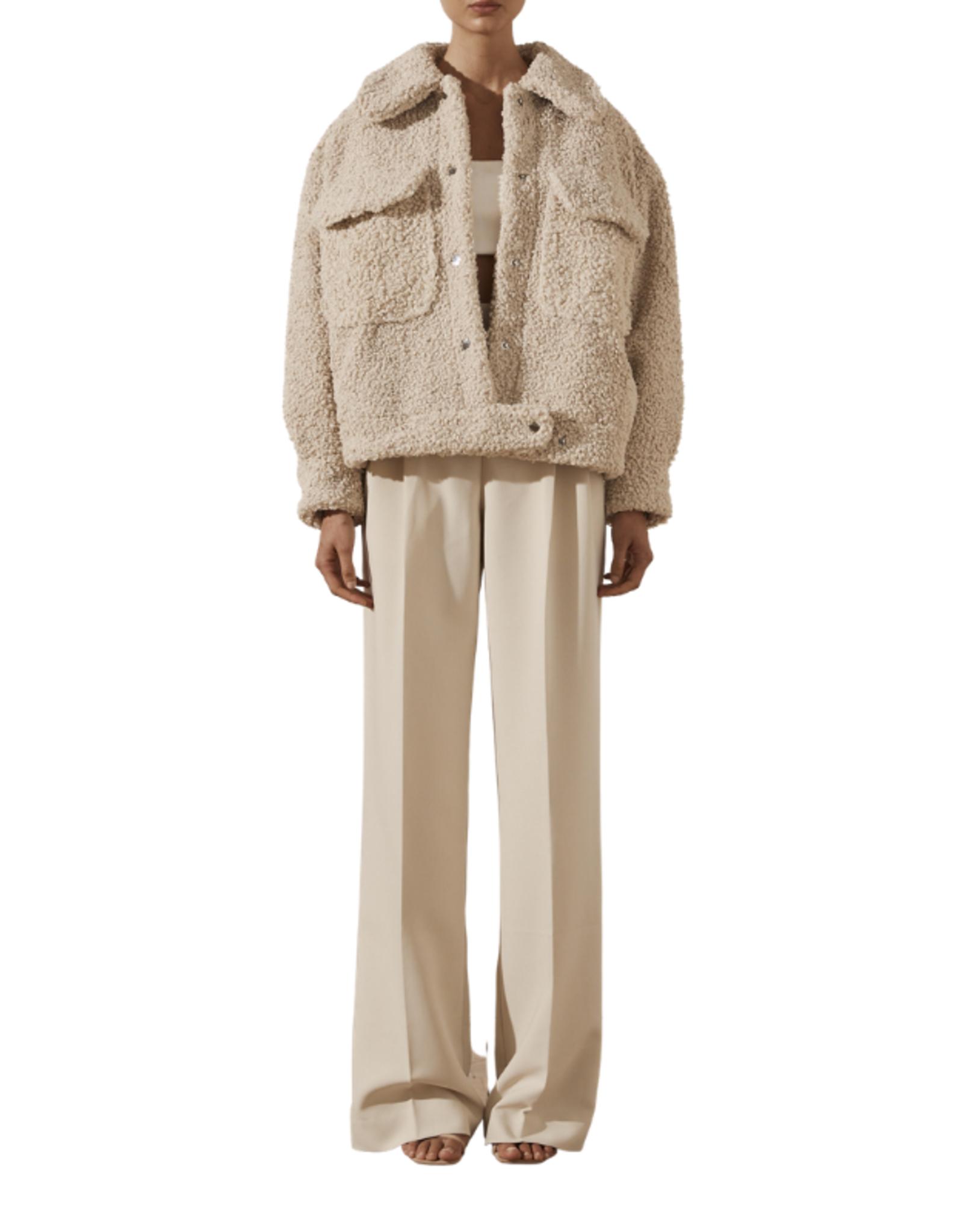 SHONA JOY Kathy Oversized Jacket Neutral
