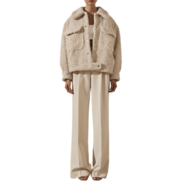 SHONA JOY Kathy Oversized Jacket Neutral