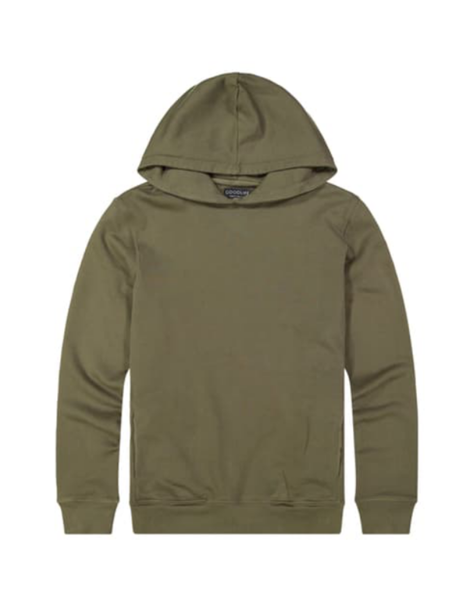 Wyld Blue Olive GoodLife Hoodie S