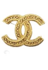 Wyld Blue Vintage Chanel Gold Brooch