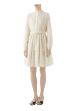Gucci Vintage Embroidered Gucci Dress