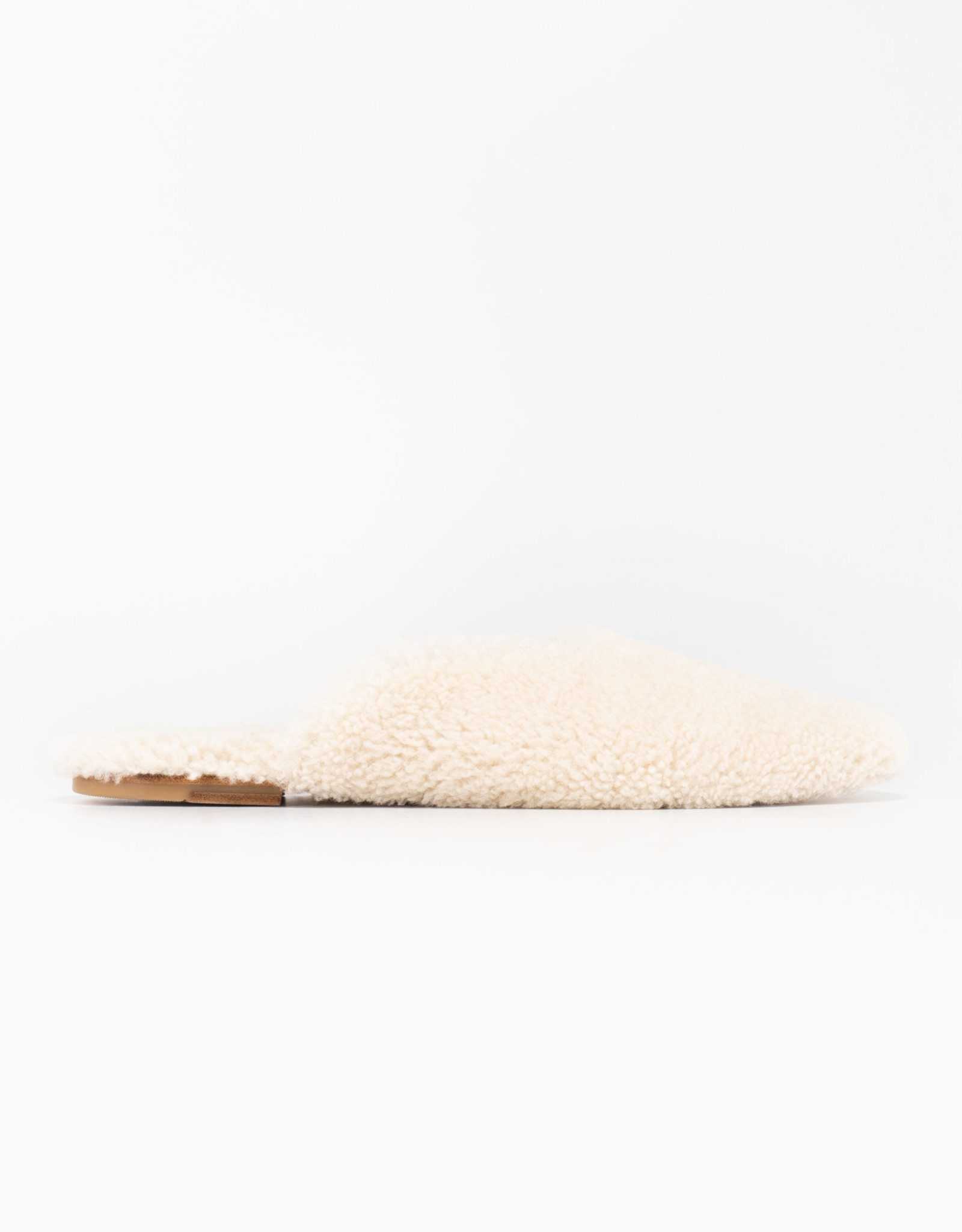 The Sleeper Cream Shearling Slippers