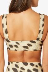 Shop WeWoreWhat Leopard Bandeau Bra Top