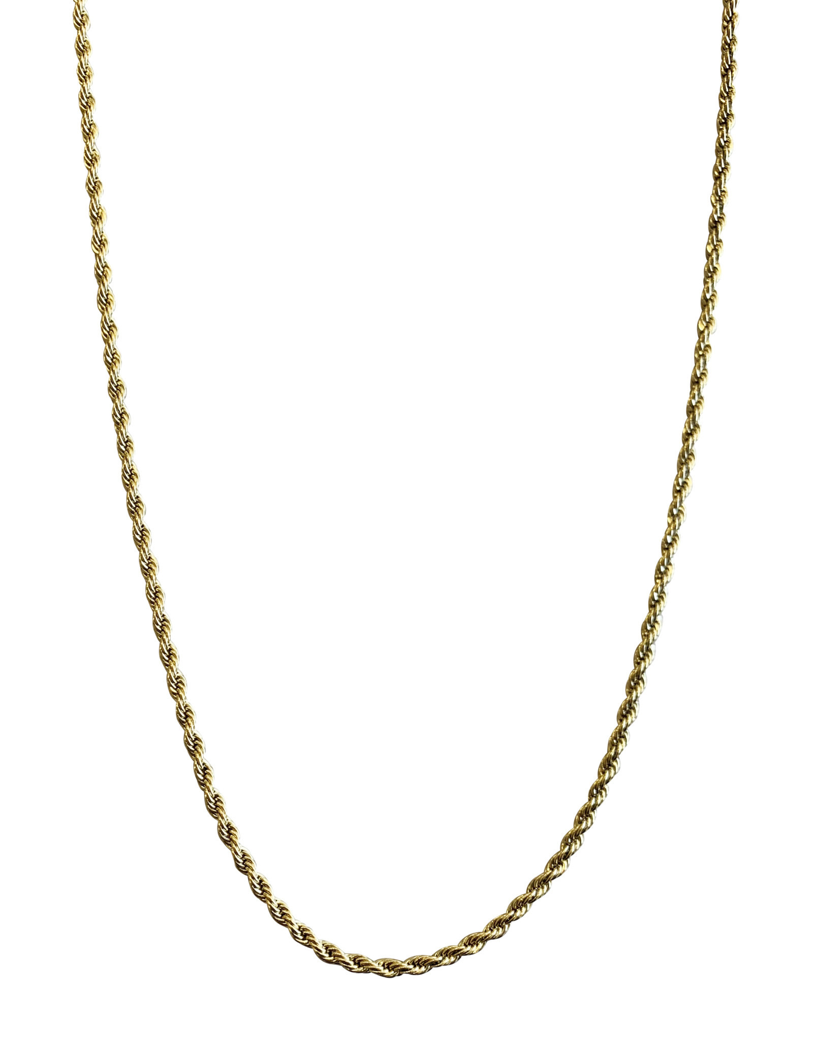 """Wyld Blue Twisted Rope Chain 20"""""""