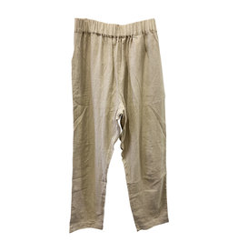 Avenue Avenue Cream Linen Pants
