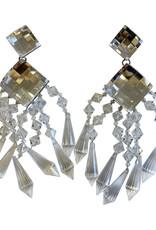 Balmain Balmain X H&M Crystal Chandelier Earrings (2015)